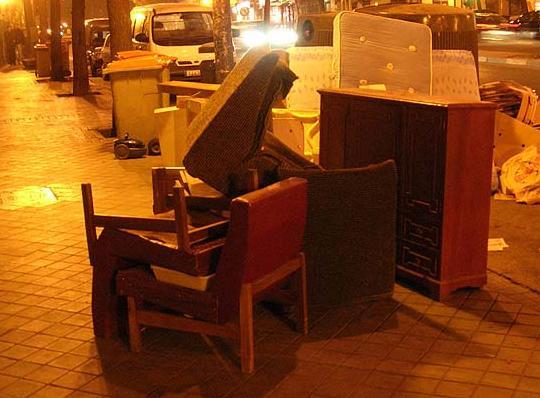 Recogida de muebles alicante cool recogida de muebles y for Centro reto salamanca recogida muebles